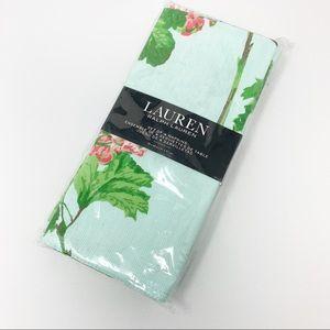 Lauren Ralph Lauren Set of 4 Floral Cotton Napkins